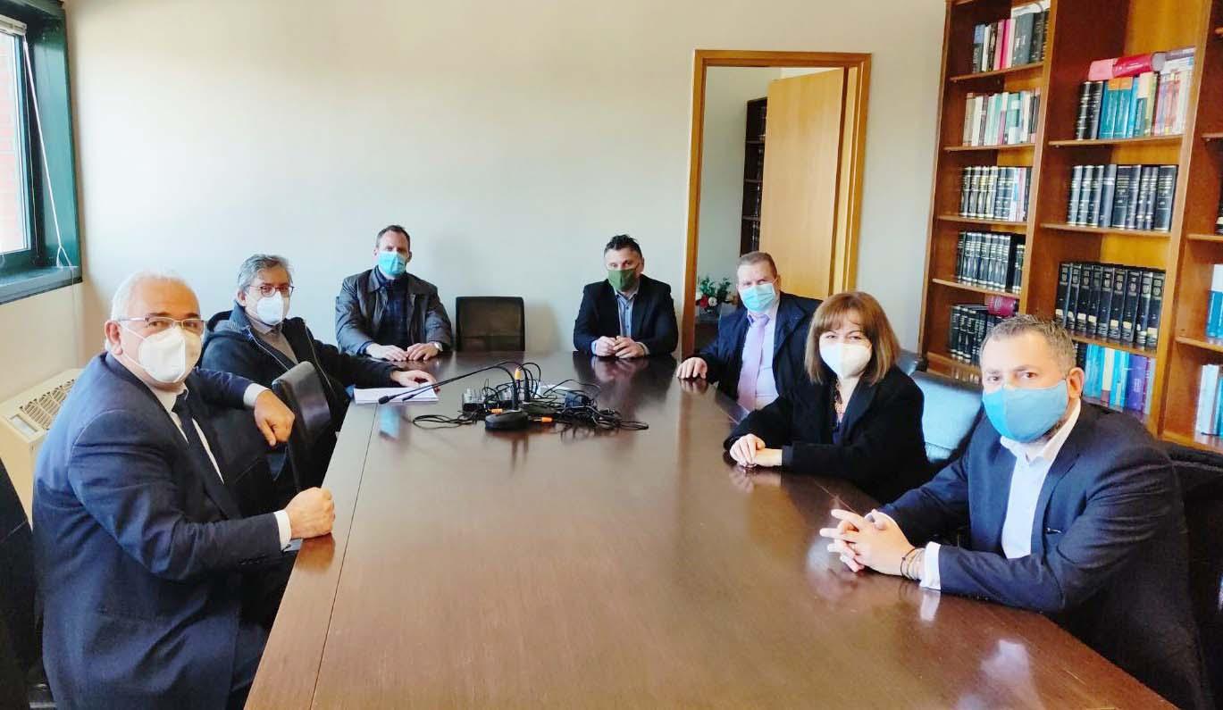 Στο Δικηγορικό Σύλλογο Κατερίνης ο Σάββας Χιονίδης