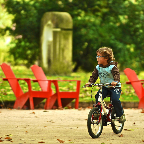 Give all children access to cycling!