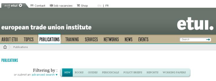 ETUI - European Trade Union Institute