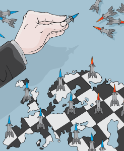 Anti missile chess
