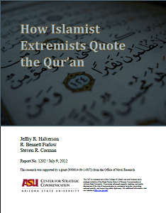 How islamists extremists quote the Qur'an