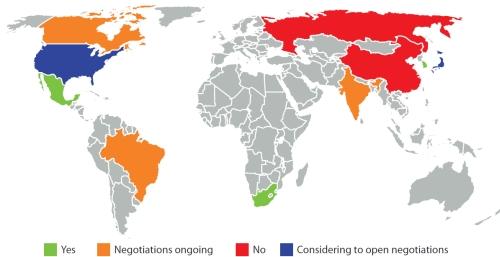 EU Strategic Partnerships with third countries