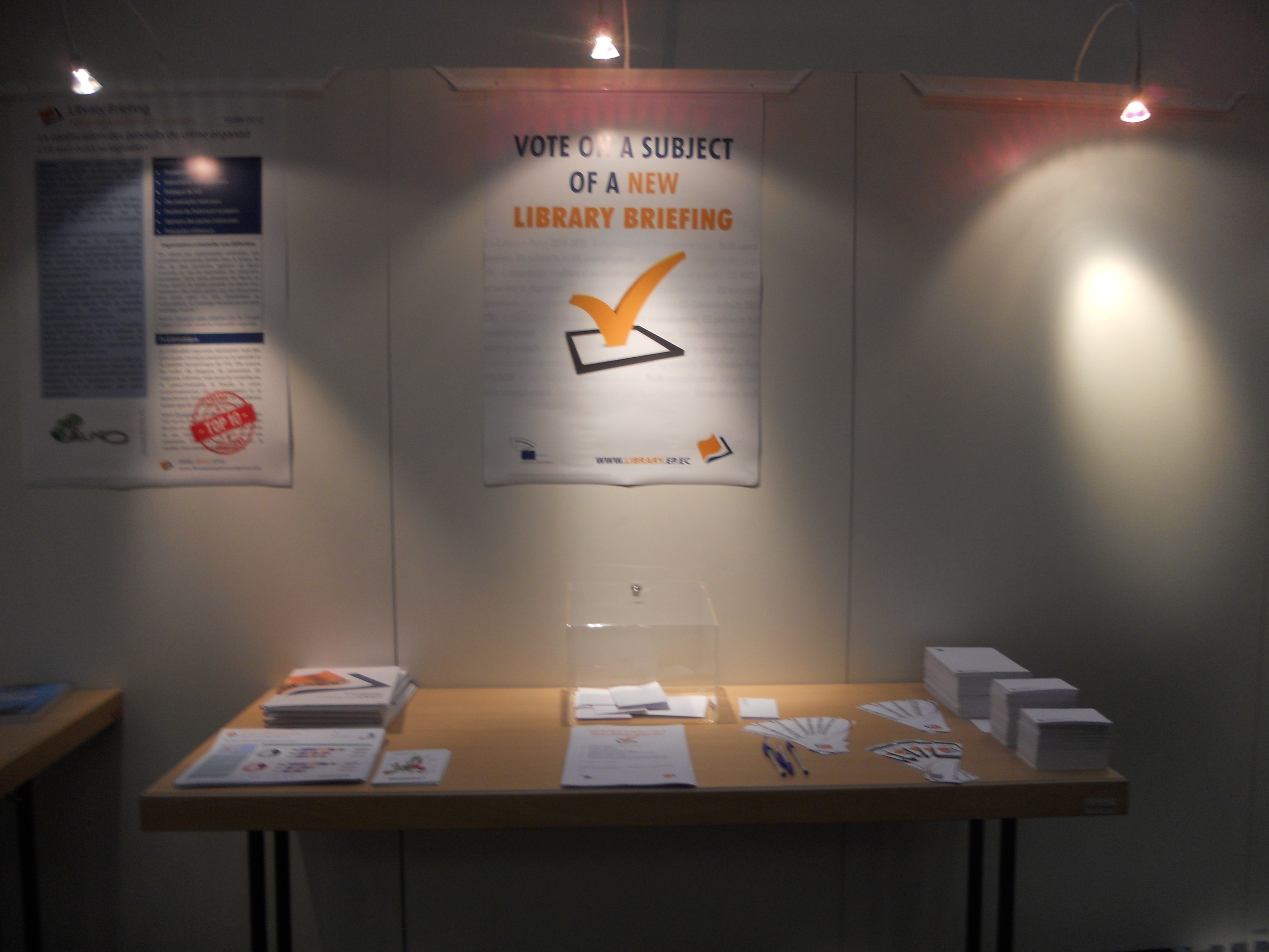 Library stand in Strasbourg 6