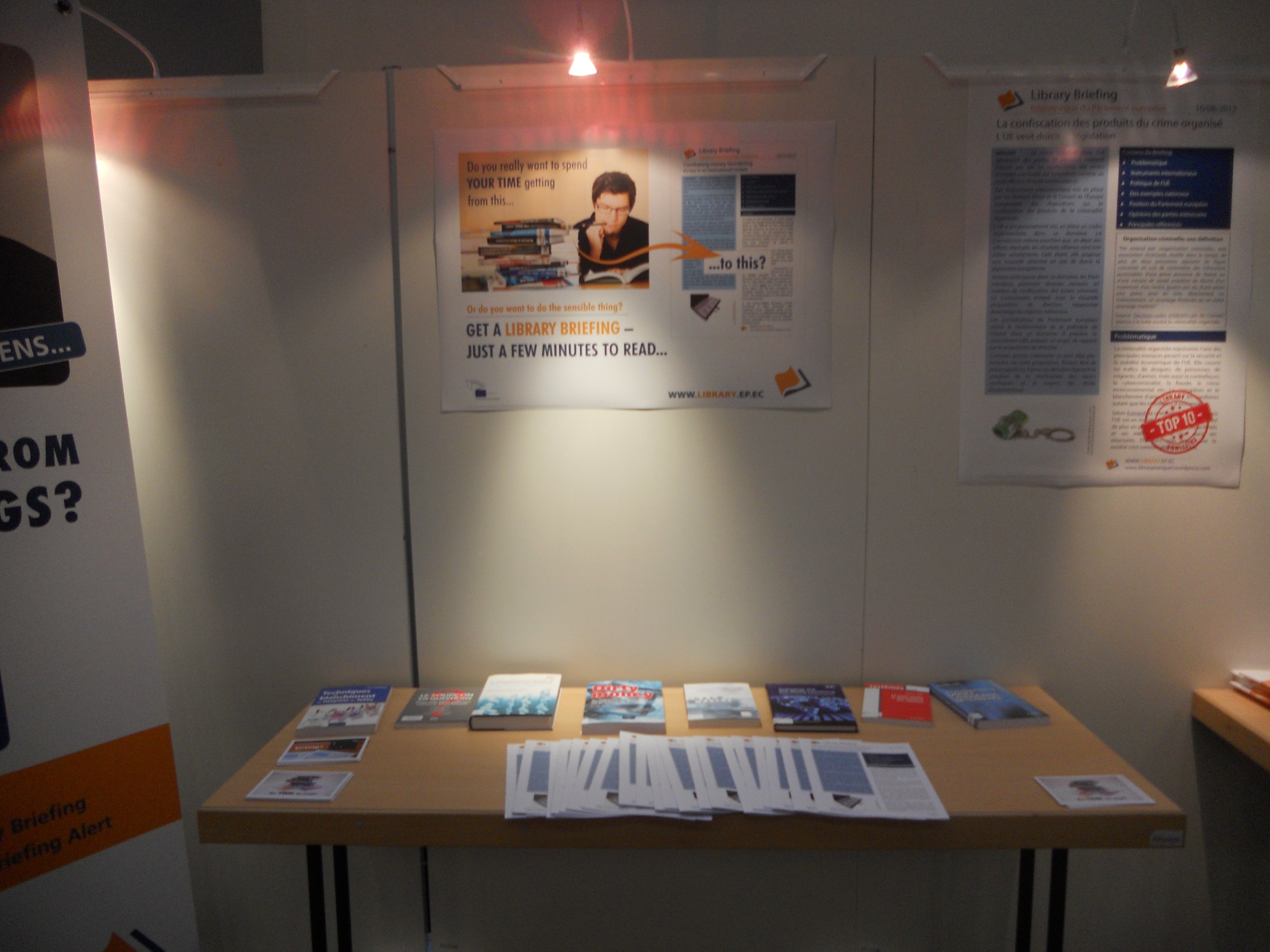 Library stand in Strasbourg 7