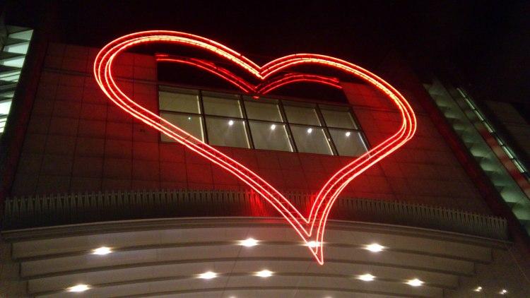 Heart on the European Parliament