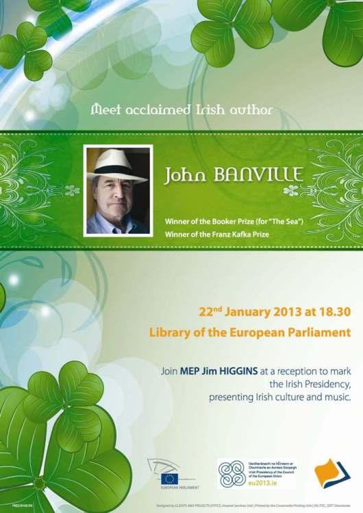 Poster Library Irish Event