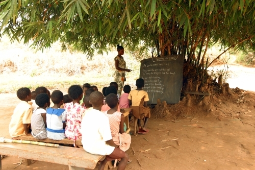 EU support for education in developing countries: Targeting those most in need and in situations of fragility