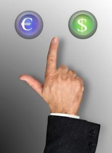 Choise between currencies
