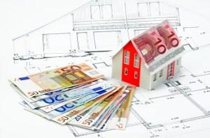 Euros on a house