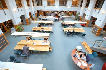 Library Reading room at the EP
