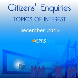 Topics of interest – December 2013