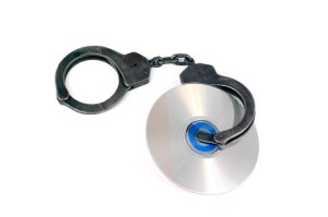 Handcuffs and CD