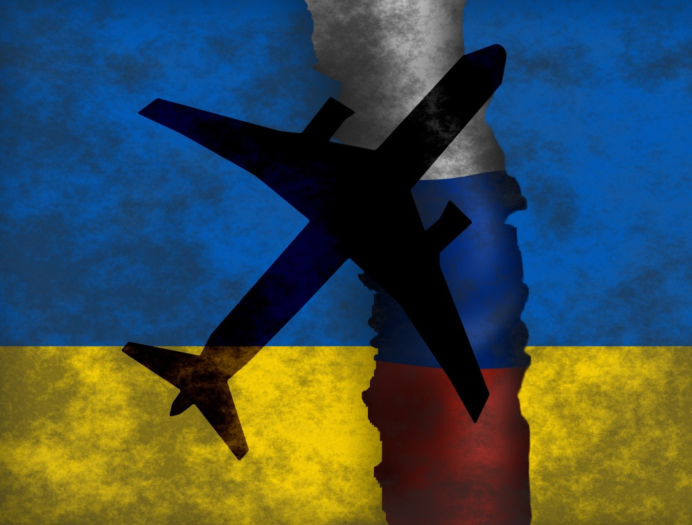 MH17 aircraft disaster and EU reaction on Russia's role in eastern Ukraine