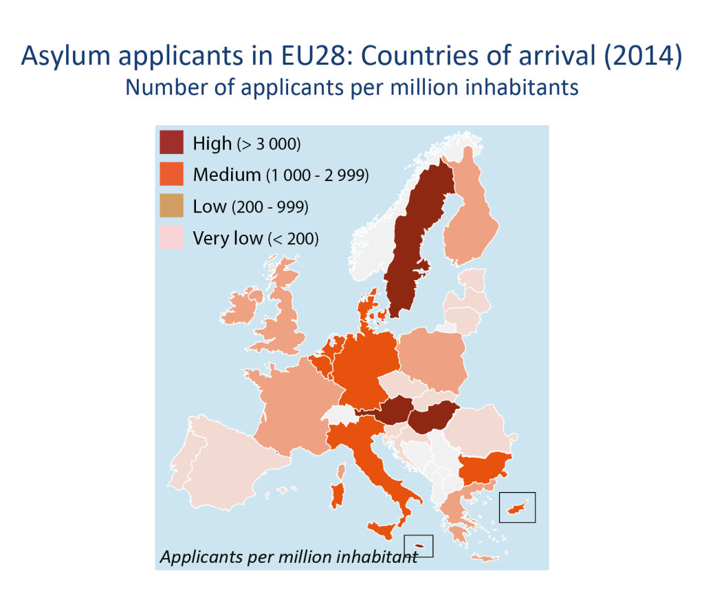 Asylum in the EU: Facts and Figures