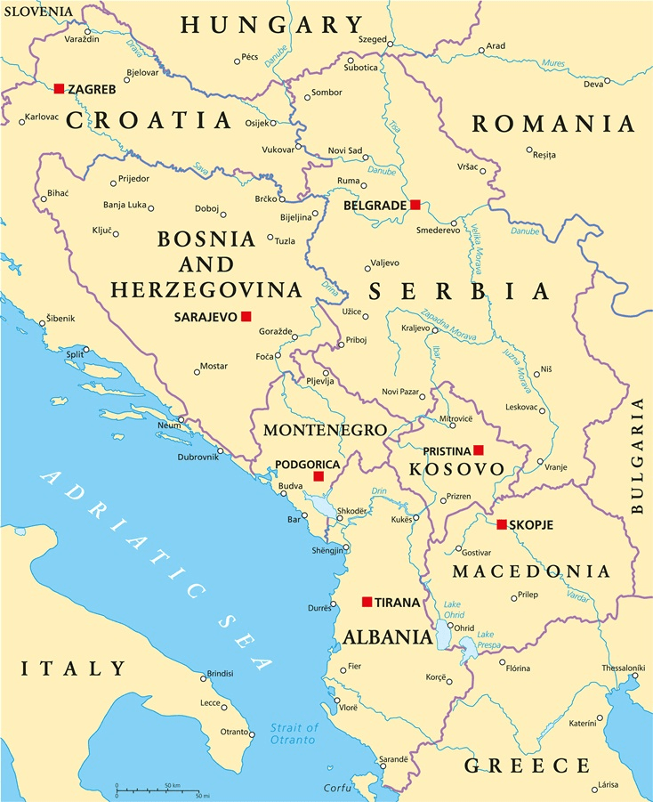 Corruption — still a major problem in several Western Balkan countries
