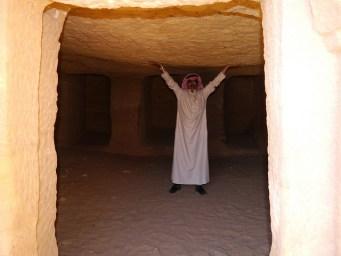 A Saudi man