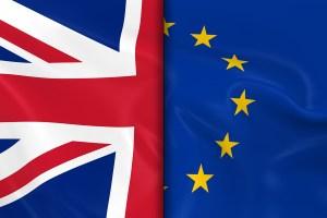 UK-EU flag