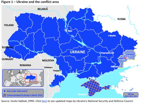 Ukraine and the conflict area