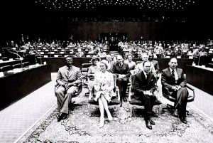 ACP-EU assembly meeting in Luxembourg 1976