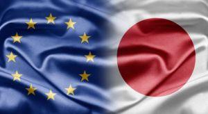 EU-Japan flags