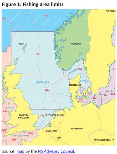 Fishing area limits