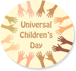 universal children's day, hands