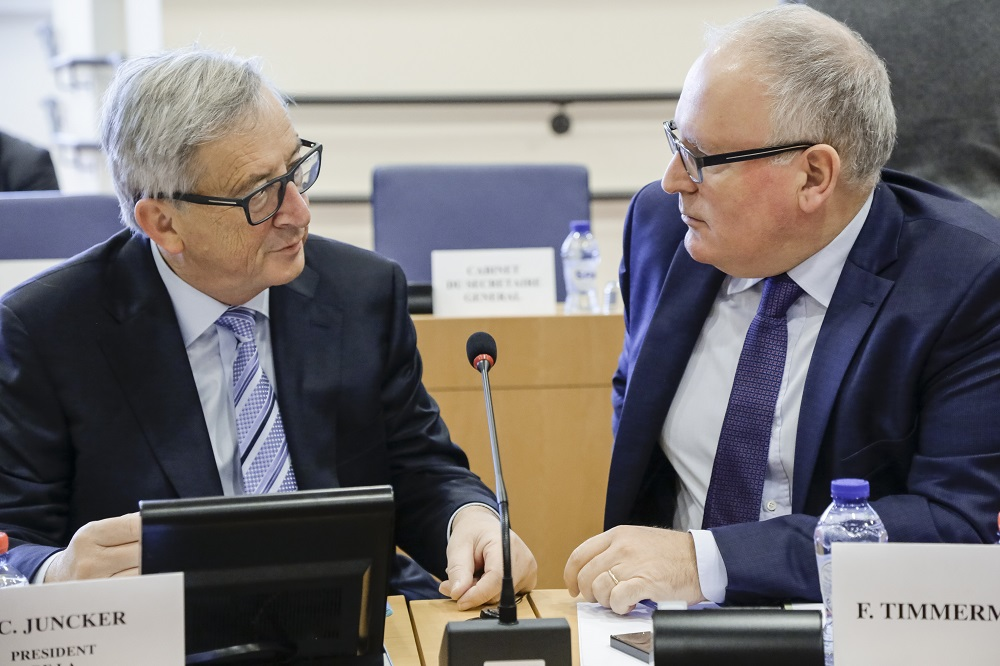 The Juncker Commission's ten priorities: State of play at the start of 2017