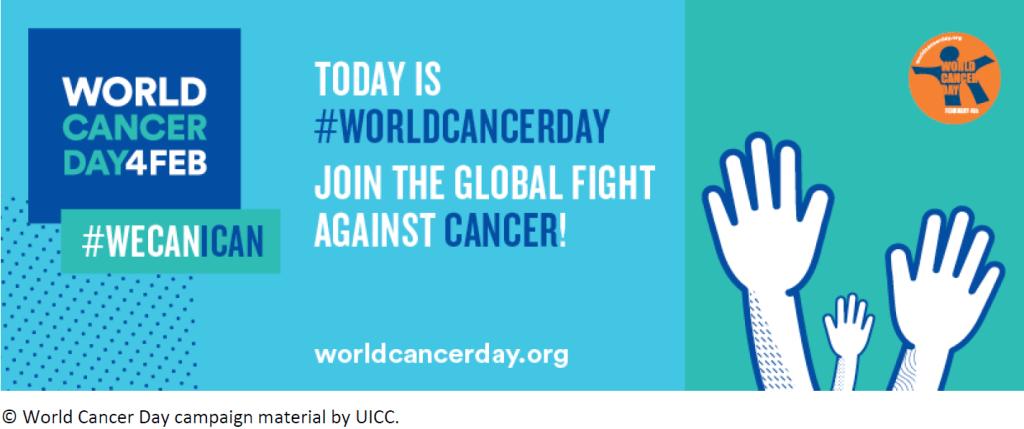 4 February: World Cancer Day