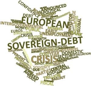 Sovereign debt wordcloud