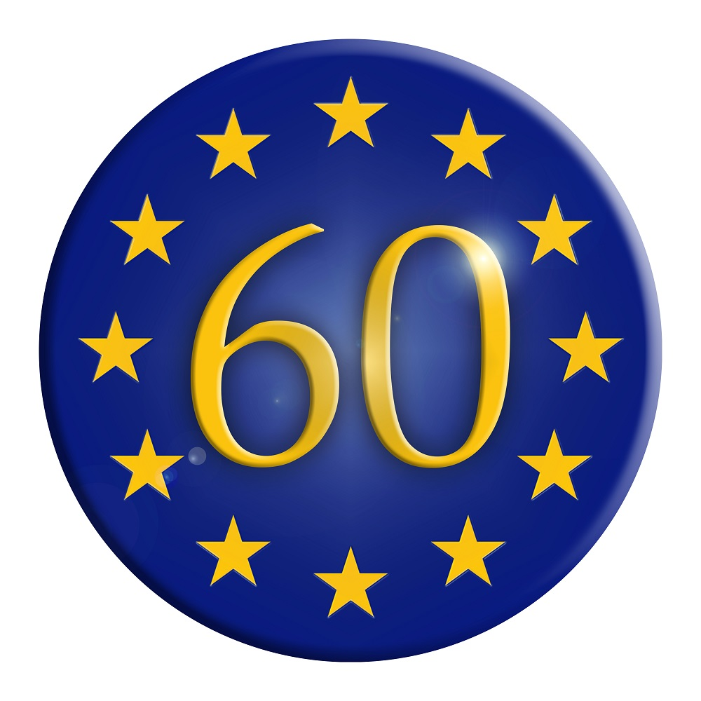 The European Union at 60 [What Think Tanks are thinking]