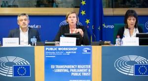 EU Transparency Register - lobbying, Parliament & public trust