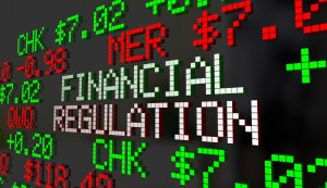 Financial Regulation Government Control Oversight Stock Market 3d Illustration