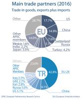 Main trade partners - Turkey