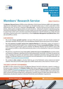 EPRS: Members' Research Service