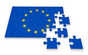 3D Europe puzzle