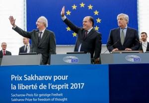 Sakharov Prize 2017 award ceremony