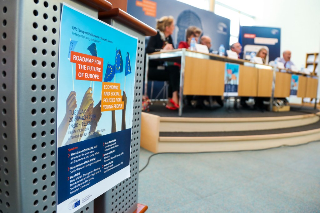 EPRS Event: Economic and Social policies for young people