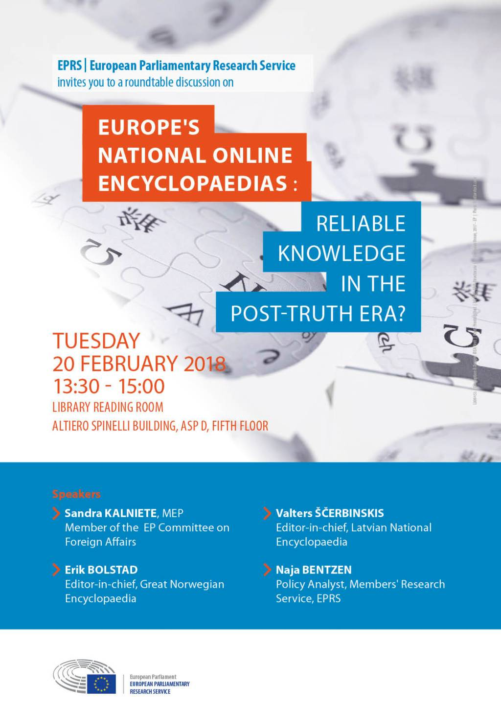 Europe's online encyclopaedias: Reliable knowledge for all in the post-fact era?