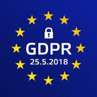 GDPR - General Data Protection Regulation. Vector illustration.