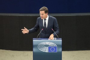 Debate on the Future of Europe with the Prime Minister of Netherlands