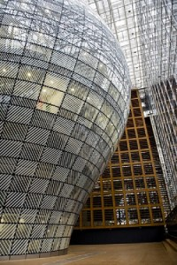 Europa building, seat of the European Council and Council of the European Union