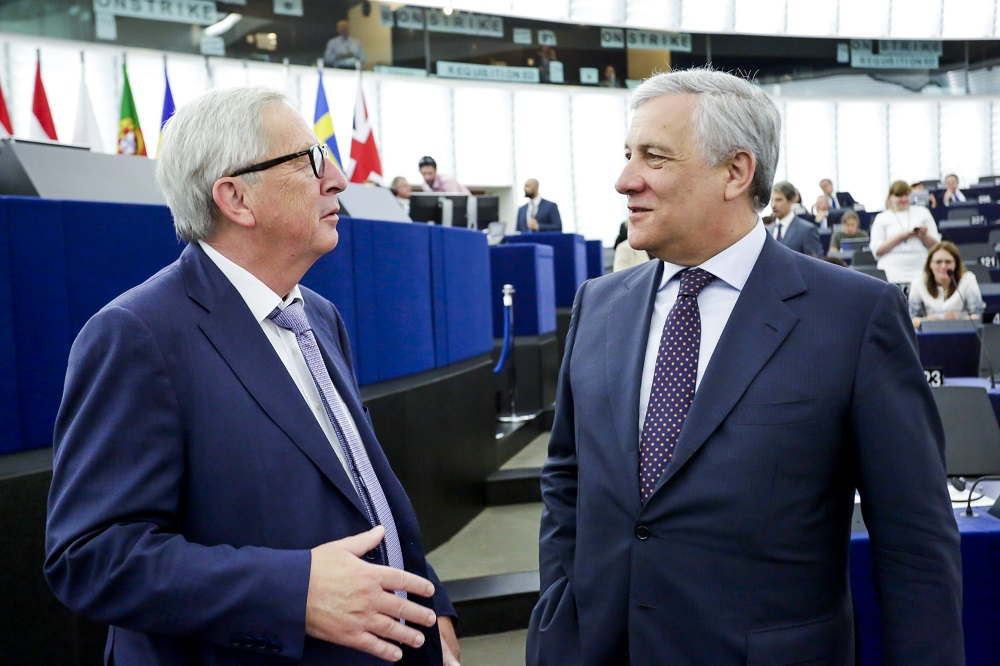The Juncker Commission's ten priorities: State of play in autumn 2018