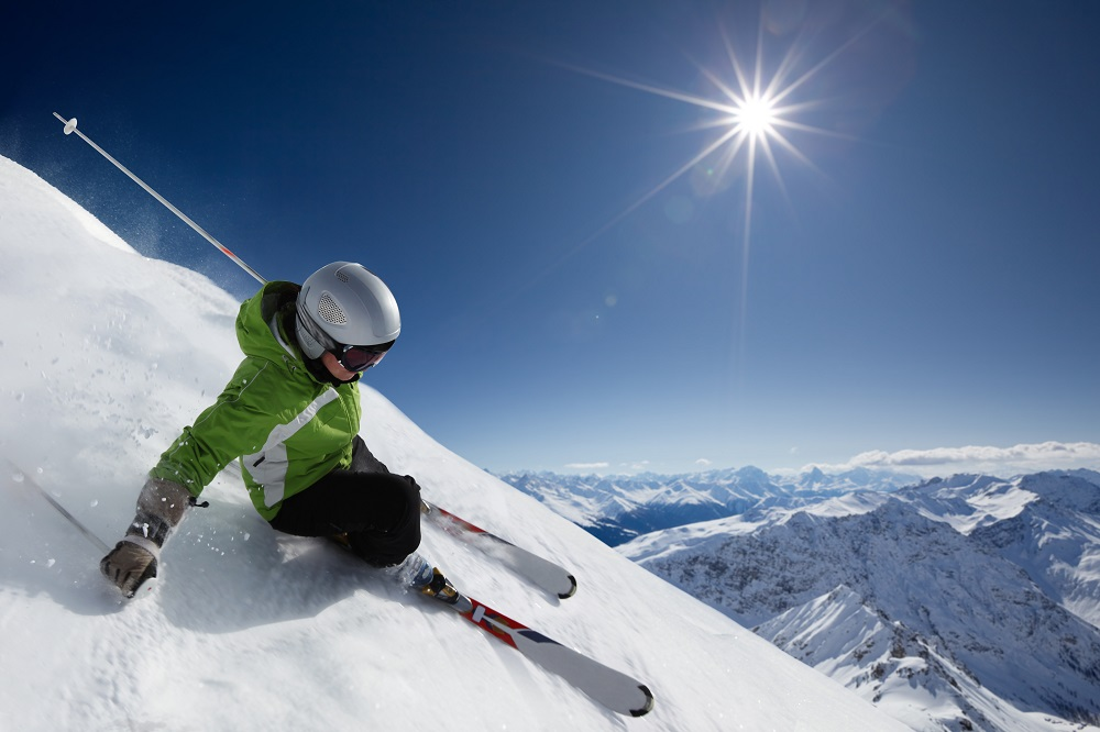 Skiers [What Europe does for you]