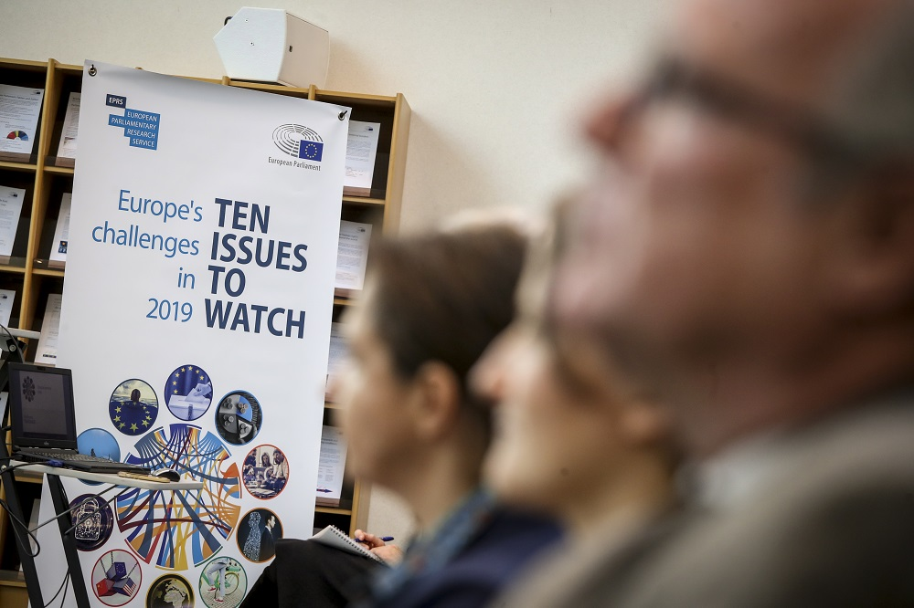 EPRS Event: Europe's challenges in 2019: Ten issues to watch