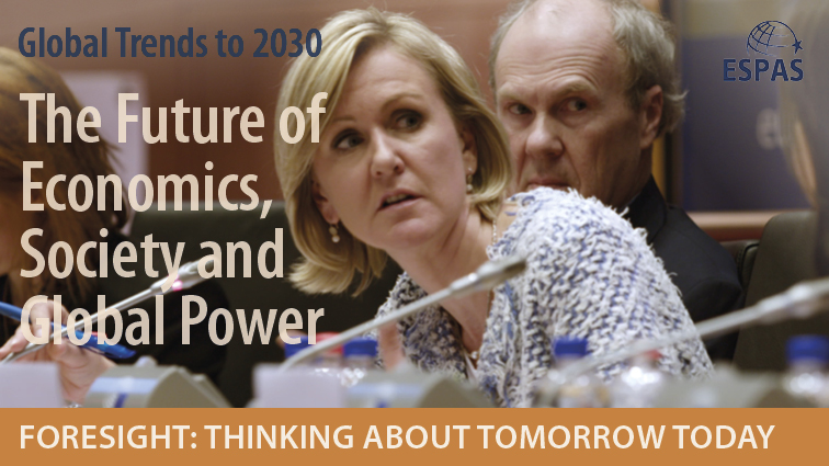Shaping the future: the Annual ESPAS Conference (afternoon sessions)