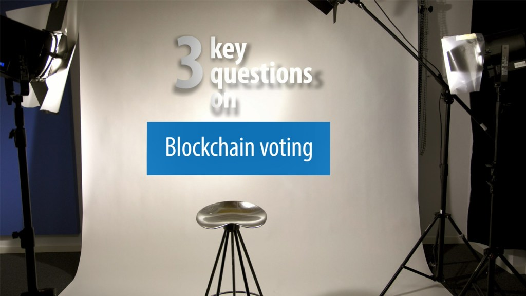 3 Key Questions on Blockchain voting