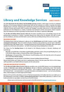 Library and Knowledge Services presentation