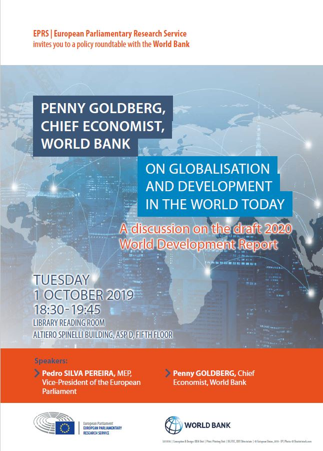 A globalisation that works for everyone? Penny Goldberg discusses the 2020 World Development Report