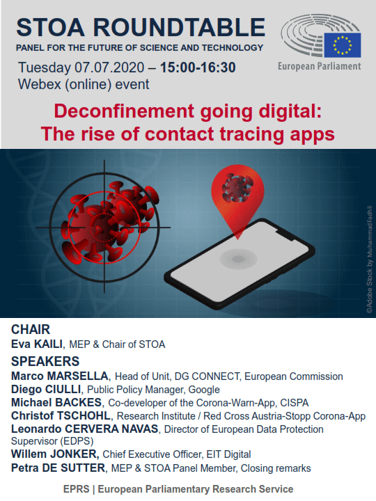 Digital contact tracing: Call for a stronger EU-wide approach