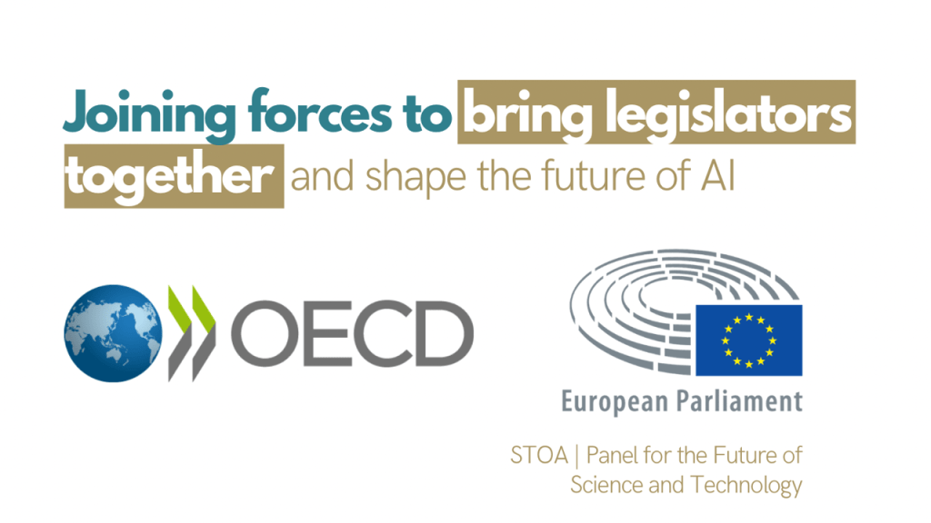 STOA and the OECD Global Parliamentary Network join forces to promote trustworthy and human-centred AI